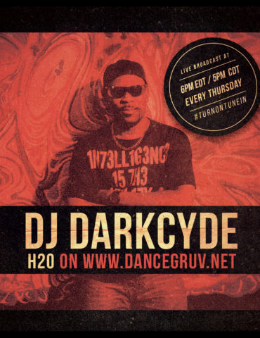DJ Darkcyde Promo Flyer