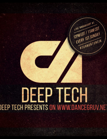Deep Tech Presents Promo Flyer